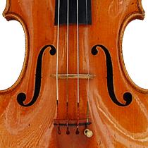 ヴァイオリン正面